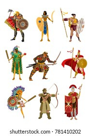 strong armored warriors collection