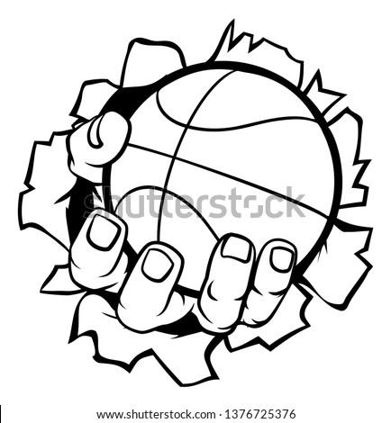 As A Heart Shaped Basketball