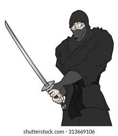strong ninja