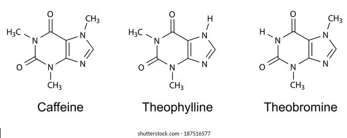 Caffeine Molecule Images Stock Photos Vectors Shutterstock