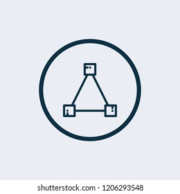 Structure icon. Vector illustration