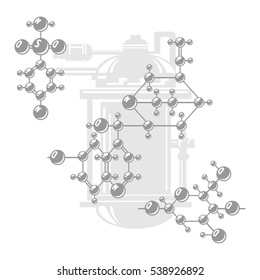The structure of polymeric molecules. Polymers. Chemical production