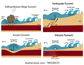 The structure of the tsunami