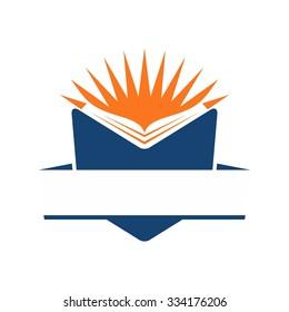 student book logo.