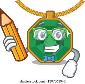 Student peridot jewelry in a cartoon box