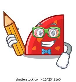 Student quadrant character cartoon style