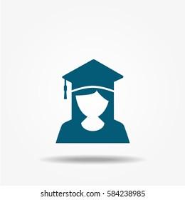 Student vector icon