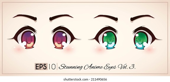 Stunning anime eyes vol.1