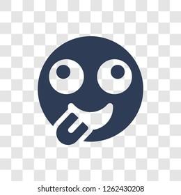 Stupid emoji icon. Trendy Stupid emoji logo concept on transparent background from Emoji collection