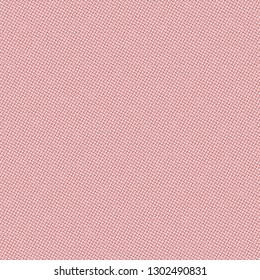 Sturdy canvas texture. Pink rough fabric. Upholstery. Cover. Vector illustration.