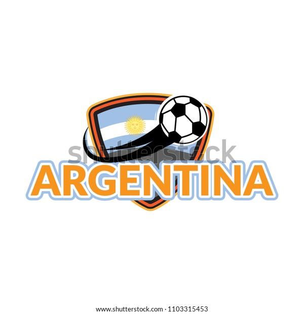 Styles flag of argentina football