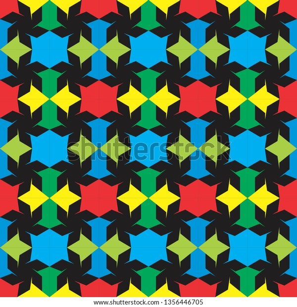 Stylish Colorful Texture Stock Vector (Royalty Free) 1356446705