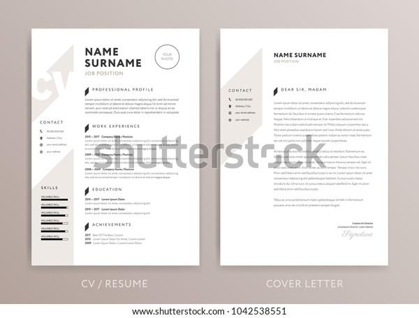 Stilvolle Lebensläufe für Lebenslauf und Cover-Letter-Design ...