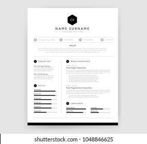 Royalty Free Resume Images Stock Photos Vectors Shutterstock