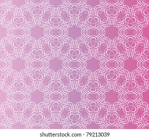 5a483d6197 Stylish design with seamless lace on an (editable) pink purple background