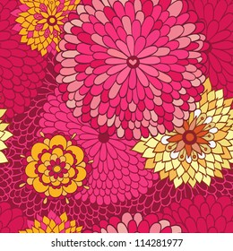 Stylish floral background.
