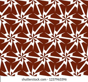 Stylish geometric background. Abstract seamless pattern. Vector illustration.