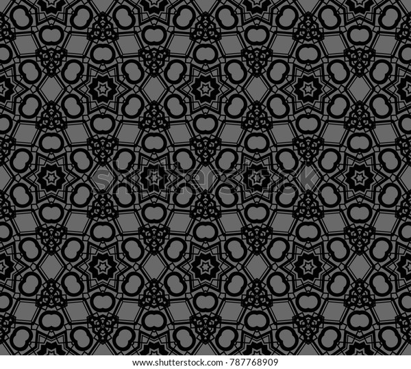 Stylish geometric background. Abstract seamless pattern. Vector illustration.