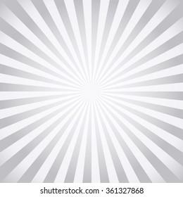 Stylish grey abstract starburst & sunburst background (NO TRANSPARENCY)