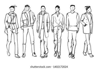 Imágenes, fotos de stock y vectores sobre Male Fashion