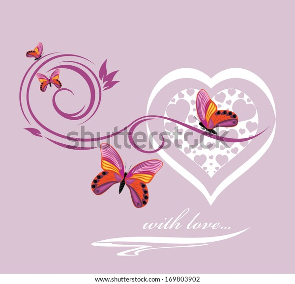 stylish-heart-butterflies-background-val