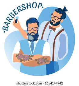 Men Salon Banner Images Stock Photos Vectors Shutterstock