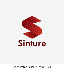 Stylish modern S Logo Design for business
