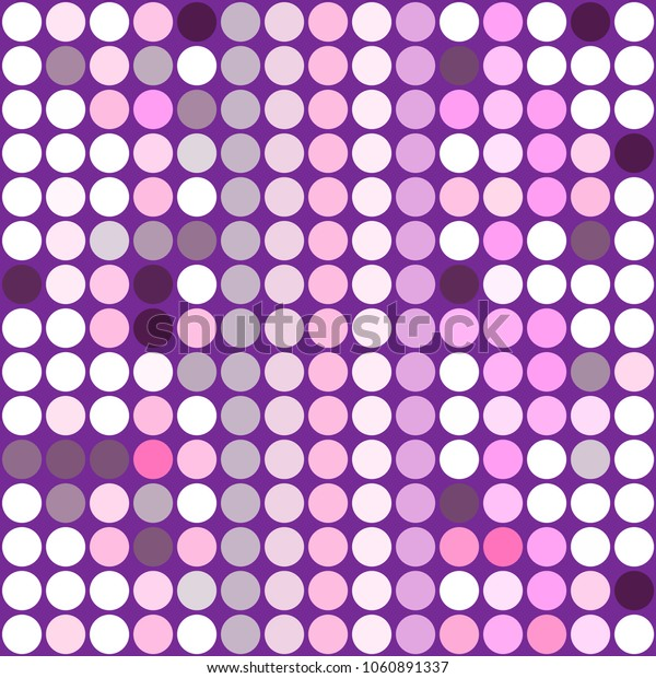 Stylish mosaic background from small round pieces. Colorful ornamental decorative texture. Vector abstract geometric background with circles for decorations, paper packaging, textile design, covers