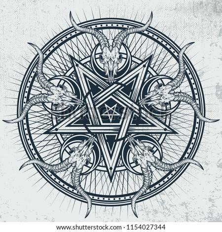 stylish-pentagram-goat-skulls-star-450w-