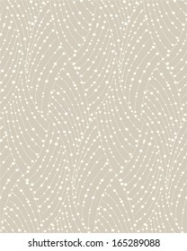 Stylish texture with a repeating pattern.A seamless vector background.Beige and white texture.