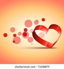stylish valentine day background design