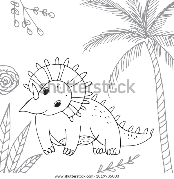 stylized dinosaur middle late cretaceous 600w