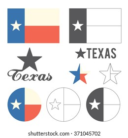 Stylized Flag of Texas