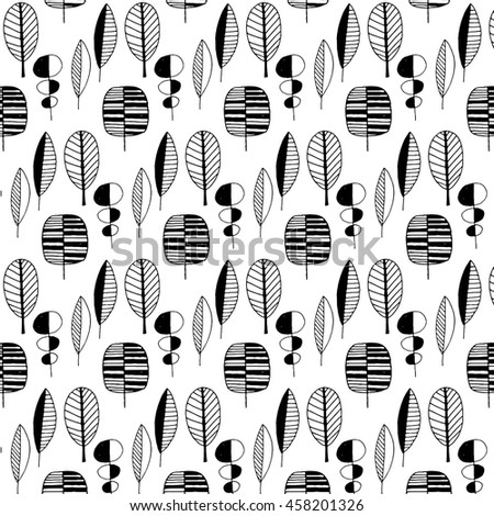 Stylized leaf pattern decorative template texture stock vector stylized leaf pattern decorative template texture with leaves maxwellsz