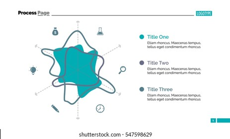 Stylized Radar Chart Slide Template