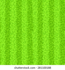 Stylized Striped Grass Seamless Pattern. Editable pattern in swatches.