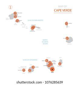 Cape Verde Map Images Stock Photos Vectors Shutterstock