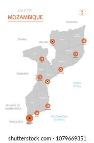 Mozambique Regions Images Stock Photos Vectors Shutterstock