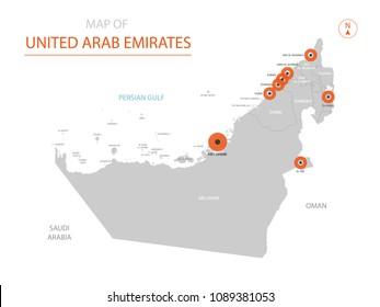 United Arab Emirates Map Images, Stock Photos & Vectors ... on abu dhabi, united emirates, map of uae and surrounding countries, map with states of uae, seven emirates, map in uae, burj khalifa, flag of uae emirates, united states of america, burj al-arab, map of uae cities, arabian emirates, dubai arab emirates, middle east, map abu dhabi uae, map eau, map of the uae, major products in uae emirates, saudi arabia, map showing deserts of uae, persian gulf, map with 7 emirates uae, ras al-khaimah, arabian peninsula,