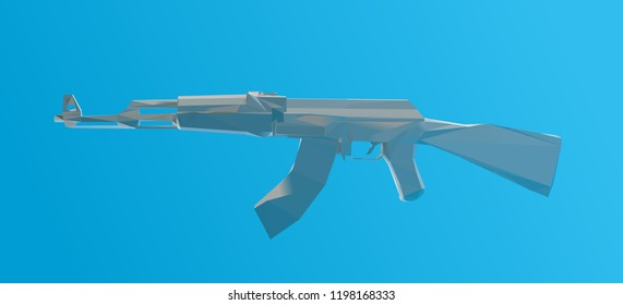 Gun 3d Rendering Stock Vectors, Images & Vector Art | Shutterstock