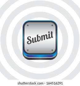 submit blue art navigation button