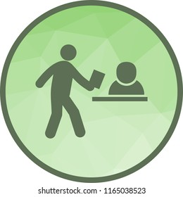 Submitting Documents Icon