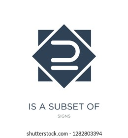 is a subset of icon vector on white background, is a subset of trendy filled icons from Signs collection, is a subset of vector illustration