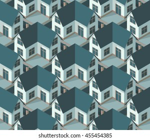 Suburbia - Seamless Vector Pattern