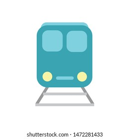 Subway train icon. Subway train concept.  Logo element illustration. Subway train symbol design. Colored collection. Can be used in web and mobile.