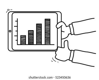 succes graphic doodle