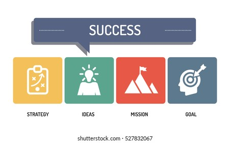 SUCCESS - ICON SET