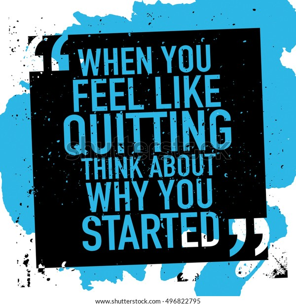 Success Motivation Concept Motivational Inspirational Quote Stock