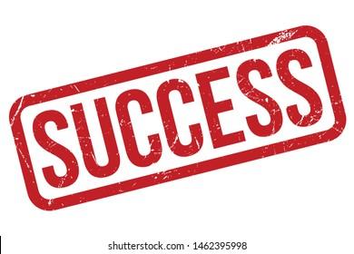 Success Rubber Stamp. Success Rubber Grunge Stamp Seal Vector Illustration - Vector