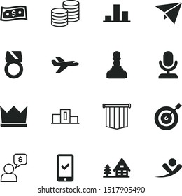 success vector icon set such as: clip, bubble, crown, frame, house, reach, audio, country, check, achievement, flying, emperor, information, aspirations, nature, man, screen, authority, prosperity